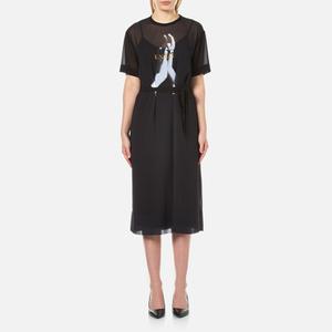 McQ Alexander McQueen Women's T-Shirt Dress - Black