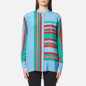 Diane von Furstenberg Women's Long Sleeve Oversized Shirt - Borel