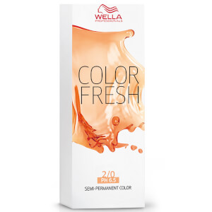 Wella Colour Fresh Fresh Black 2/0 75ml: Image 2