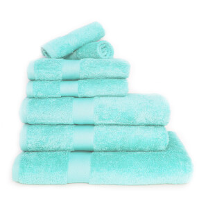 Restmor 100% Egyptian Cotton 7 Piece Luxury Towel Bale (600GSM) - Aqua