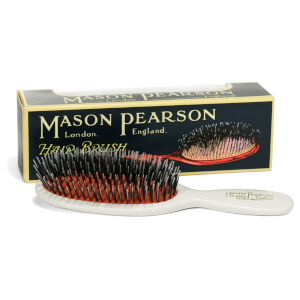 Mason Pearson Pocket Bristle and Nylon Brush - BN4 - Ivory