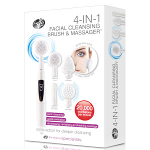 Rio 4 in 1 Facial Cleansing Brush, Exfoliator and Massager: Image 3