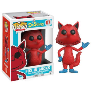 Dr. Seuss Fox In Socks Pop! Vinyl Figur