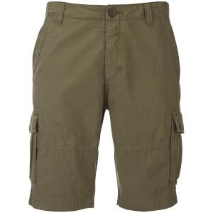 Pantalón corto cargo Threadbare Hulk - Hombre - Caqui oscuro