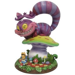 Statuette Chat du Cheshire Alice au pays des merveilles Disney