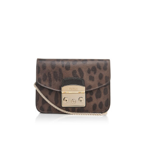 Furla Women's Metropolis Mini Cross Body Bag - Brown