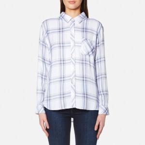 Rails Women's Hunter Check Shirt - White/Blush/Patriot