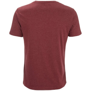 Smith & Jones Men's Purlin 2 Pack T-Shirt - Charcoal/Burgundy: Image 4