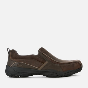 Skechers Men's Larson Berto Slip On Shoes - Dark Brown