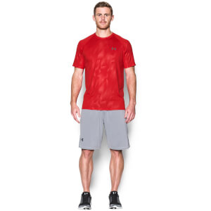 Under Armour Men's Novelty Tech T-Shirt - Red/Graphite