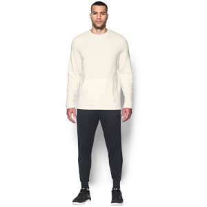 Under Armour Men's Ali Crew Sweatshirt - Ivory