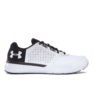 Under Armour Men's Micro G Fuel Running Shoes - White/Black
