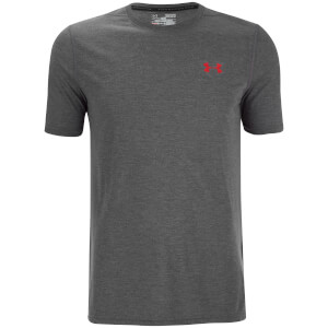 Under Armour Men's Threadborne Fitted T-Shirt - Black/Red