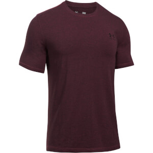 Under Armour Men's Sport Style Left Chest Logo T-Shirt - Red/Black