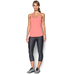 Under Armour Women's Fly By Racerback Run Tank - London Orange
