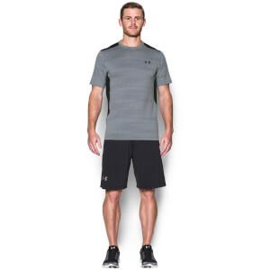 Under Armour Men's Raid Jacquard T-Shirt - Steel/Graphite