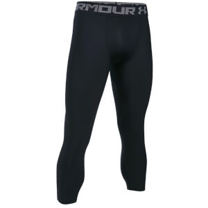 Under Armour Men's HeatGear Armour 3/4 Compression Tights - Black