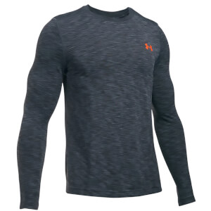 Under Armour Men's Threadborne Seamless Long Sleeve Top - Stealth Grey