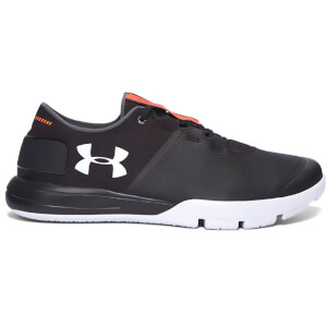Under Armour Men's Charged Ultimate TR 2.0 Training Shoes - Black/White
