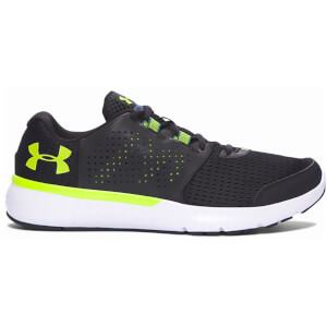 Under Armour Men's Micro G Fuel Running Shoes - Black/Velocity