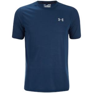 Under Armour Men's Threadborne Fitted T-Shirt - Blackout Navy/Steel