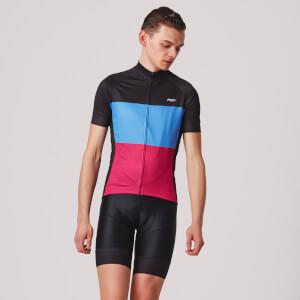 PBK Montagna Jersey - Black/Blue/Pink