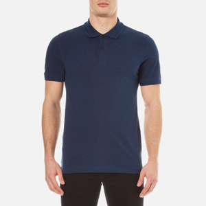 Belstaff Men's Granard Short Sleeve Polo Shirt - Bright Indigo Melange