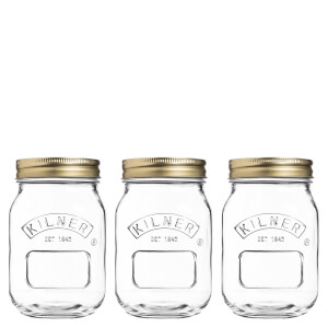 Kilner Preserve Jars 0.5L (Set of 3)