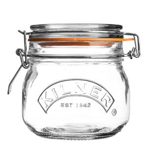 Kilner Clip Top Round Jar 0.5L