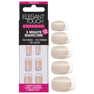 Elegant Touch Express Nails - French Oval Bare