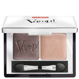 Vamp! PUPA Duo d'Ombres à Paupières Compact Eyeshadow Duo - Bronze Amber