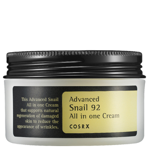 Crema Todo en uno Advanced Snail 92 de COSRX 100 ml
