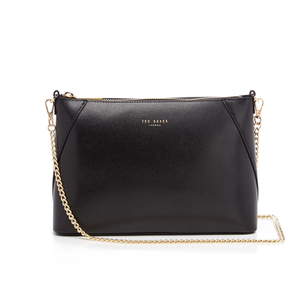 Ted Baker Women's Chania Mini Grain Chain Strap Cross Body Bag - Black