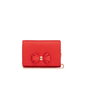 Ted Baker Women's Graciee Grosgrain Bow Clutch Bag - Burnt Orange
