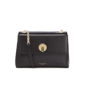 Ted Baker Women's Mihai Chain Circle Lock Cross Body Bag - Black