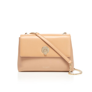 Ted Baker Women's Mihai Chain Circle Lock Cross Body Bag - Taupe