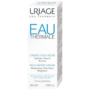 Uriage Eau Thermale Rich Water Cream 40ml: Image 2