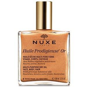 NUXE Huile Prodigieuse Golden Shimmer Multi Usage Dry Oil 100 ml