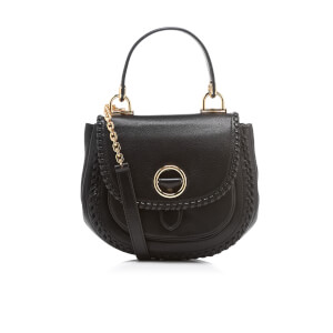 MICHAEL MICHAEL KORS Women's Isadore Medium Pebble Leather Messenger Bag - Black
