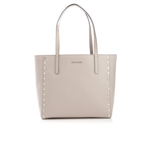 MICHAEL MICHAEL KORS Women's Rivington Stud Large Tote Bag - Cement