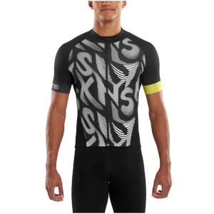 Skins Cycle Men's Classic Short Sleeve Jersey - Leviathan/Black