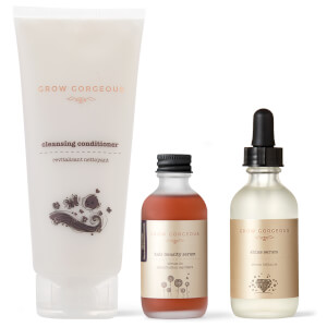Grow Gorgeous The Gorgeous Shine Routine