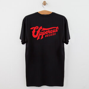 Uppercut Stay Bold Skull T-Shirt - Black/Red Print