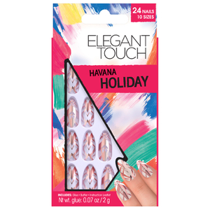 Elegant Touch Holiday Collection Nails - Havana