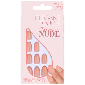 Elegant Touch Nude Collection Nails - Tawny
