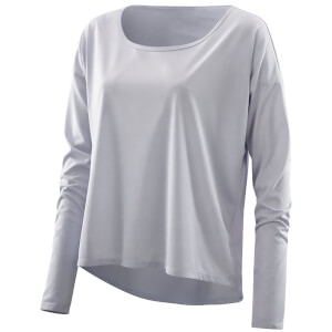 Skins Plus Women's Pixel Long Sleeve Top - Sora/Marle