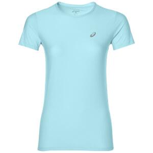 Asics Women's Run T-Shirt - Aqua Splash
