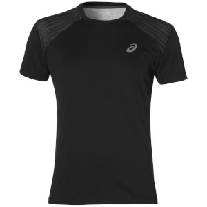 Asics Men's FuzeX Run T-Shirt - Black