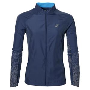 Asics Women's Lite Show Run Jacket - Indigo Blue