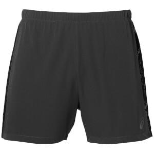 Asics Men's Race 5 Inch Run Shorts - Dark Grey